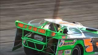 JOSH JACKSON RACING TRI CITY SPEEDWAY HEAT RACE WIN 6 7 19