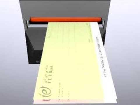 Cheque Deposit Machine Youtube
