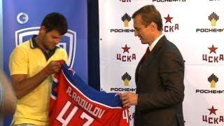 Хоккей - Радулова одели в форму ЦСКА