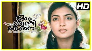 Ohm Shanthi Oshaana Movie Scenes | Title Credits | Neelakasham song | Nazriya intro