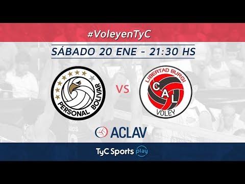 Liga Argentina: Personal Bolívar vs. Libertad Burgi Voley l #VoleyEnTyCSports