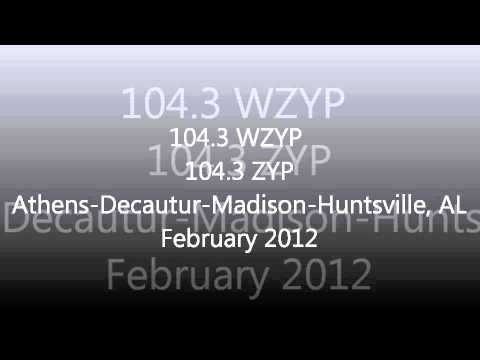 Alabama Rhythmic & CHR Top 40 Aircheck Samples 2011-2012 Par