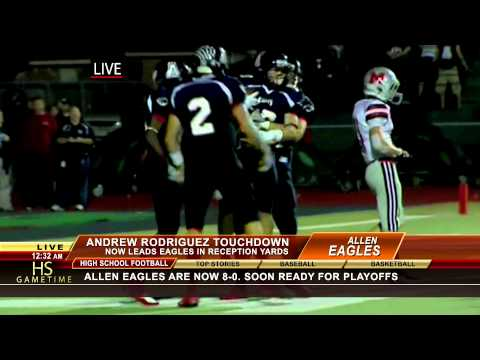 Andrew Rodriguez Touchdown HD (vs. Flower Mound Marcus)