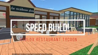 Restaurant Tycoon - France Construction de vitesse Roblox (fr) 2