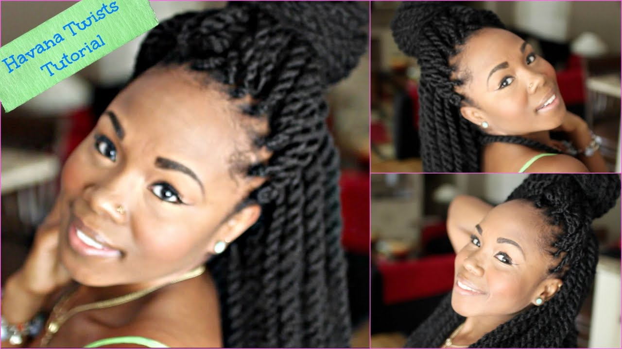 Havana Twists With Braided Base LIKE A BOSS