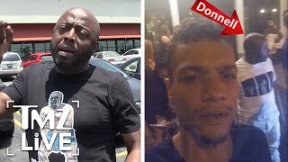 Donnell Rawlings Allegedly Attacks Fan | TMZ Live