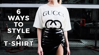 6 Ways to Style a T-Shirt - Payton Sartain