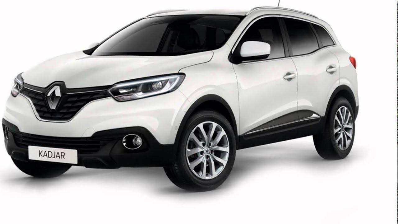 2016 Renault Kadjar Pearl White - YouTube