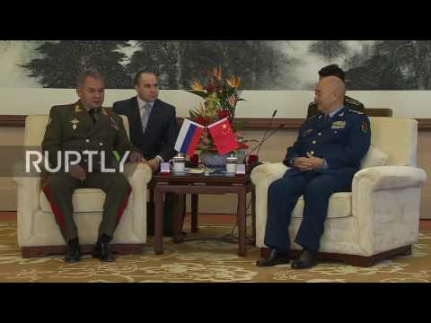 China: Shoigu and Xu Qiliang discuss Russian-Chinese security cooperation