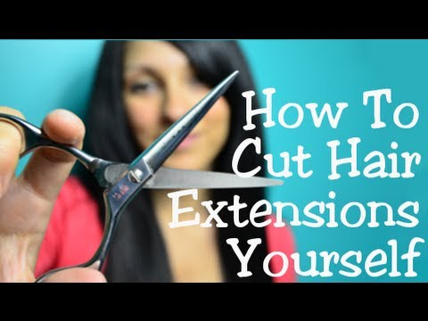 how to style hair extensions how to cut amp trim hair extensions yourself instant 2999