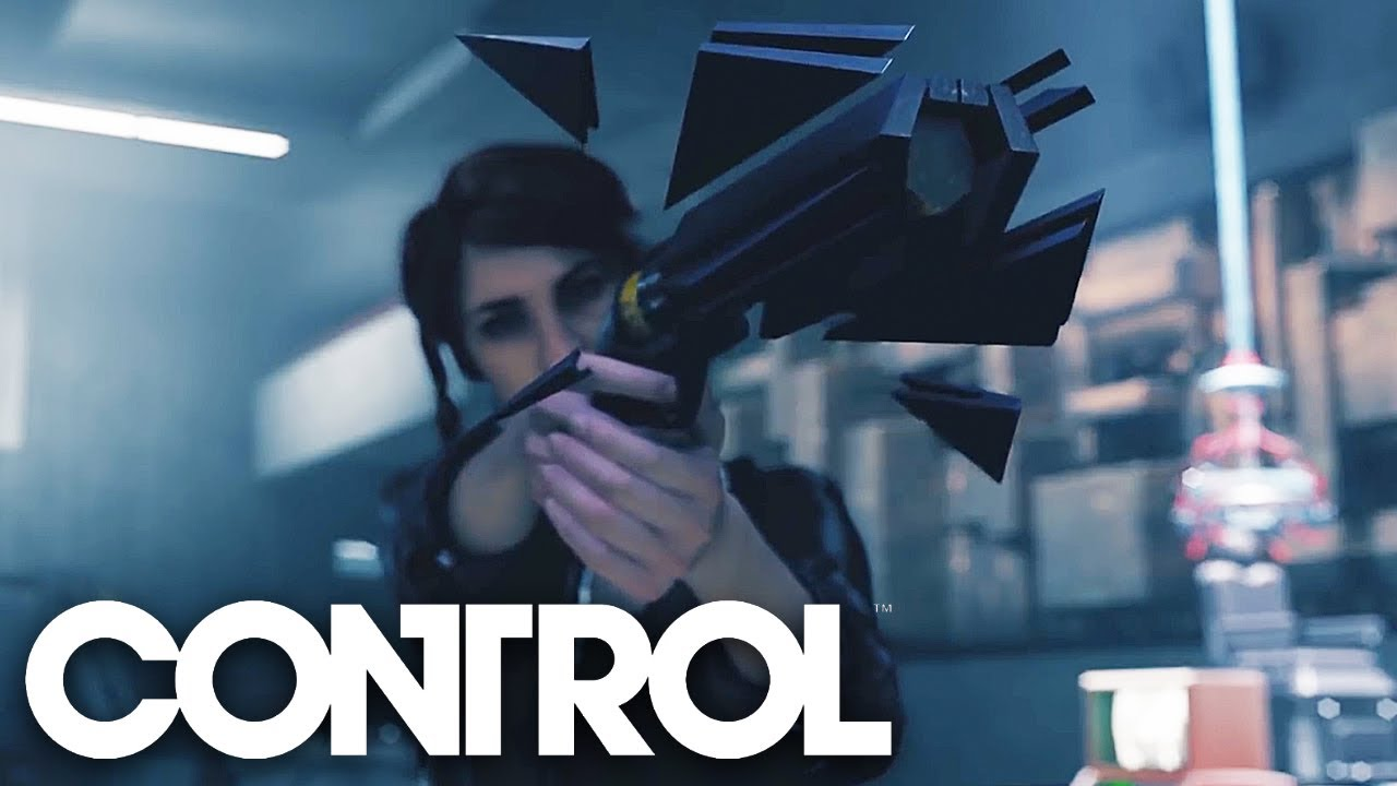 Control - Official Gameplay Trailer - YouTube