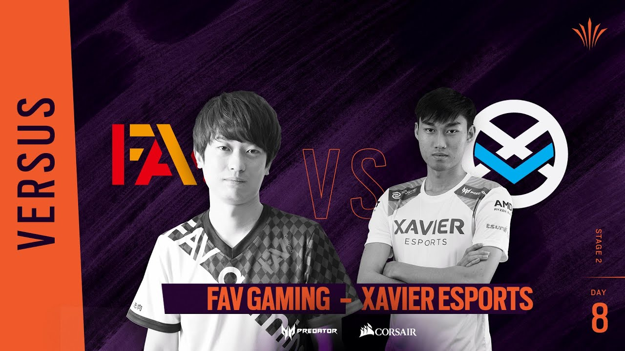 FAV Gaming vs Xavier Esports // Rainbow Six APAC North Division 2020 - Stage 2 - Playday #8