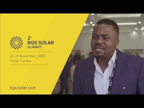 Barton Shasha (ib vogt GmbH) Interview @ 2nd BGS Solar, November 2017