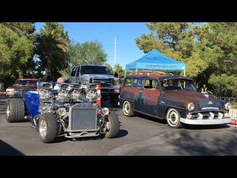 VEGAS STRONG  CAR SHOW RAISES MORE THAN $50,000 FOR LAS VEGAS VICTIMS' FUNDS