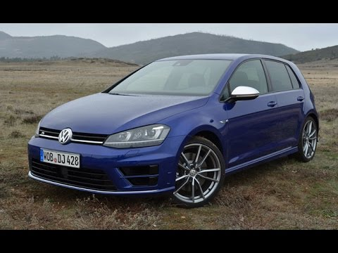 2015 volkswagen golf r review first drive youtube. Black Bedroom Furniture Sets. Home Design Ideas