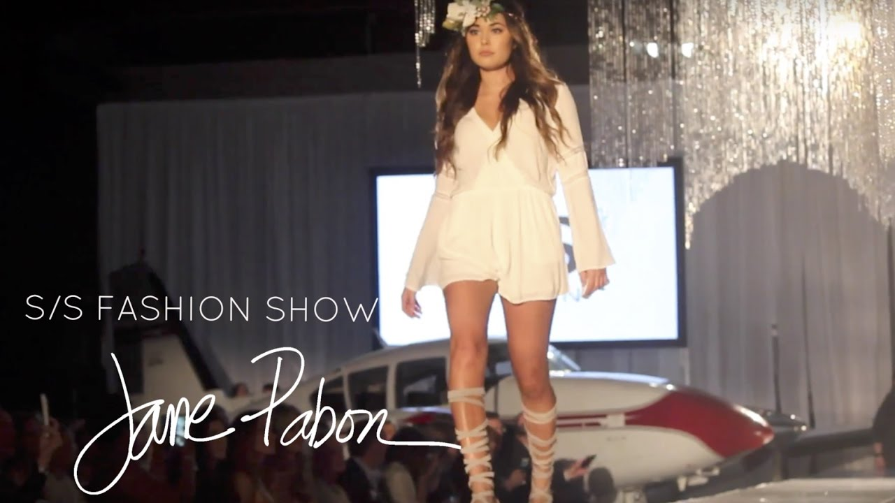 Jane Pabon Airport Fashion Show