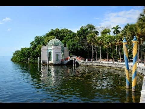 Florida Travel The Beauty of Vizcaya Museum Gardens YouTube
