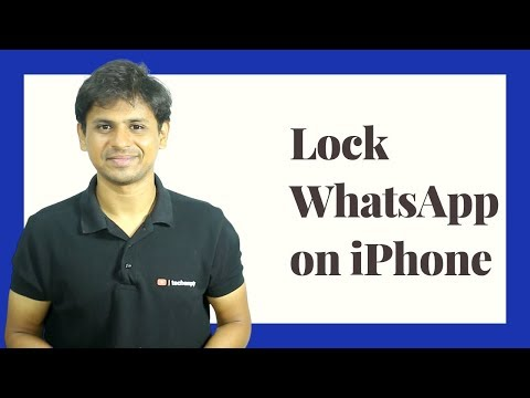 How To Lock WhatsApp on iPhone without Any App?