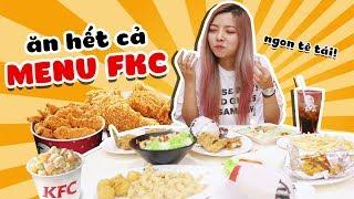 Ohsusu Một Phút Lầm Lỡ Thử Gọi Hết Menu KFC Và Cái Kết