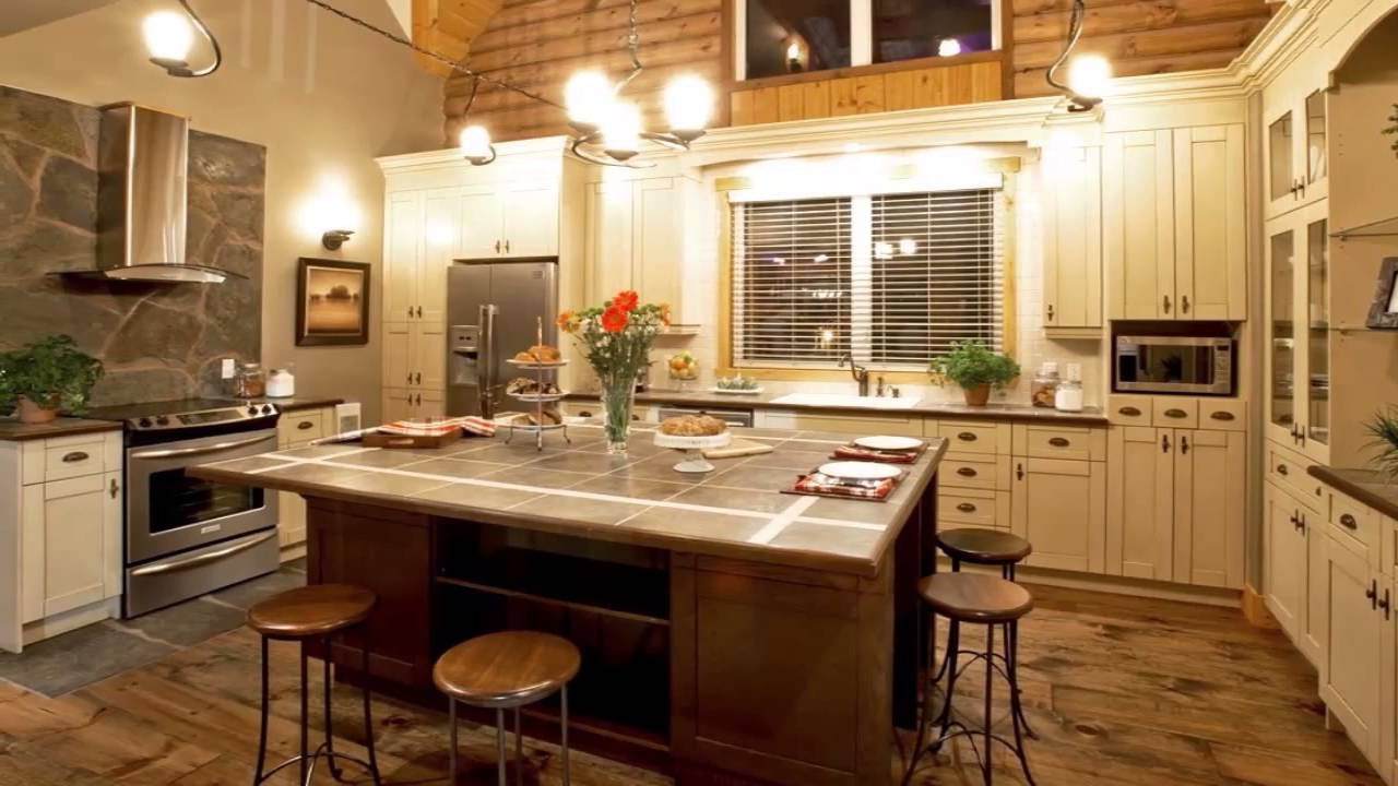 Cucine stile country - YouTube