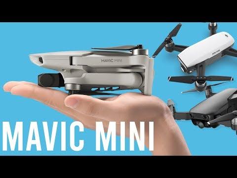 ⚔️Mavic Mini VS DJI Spark VS Mavic Air (Spec comparison)
