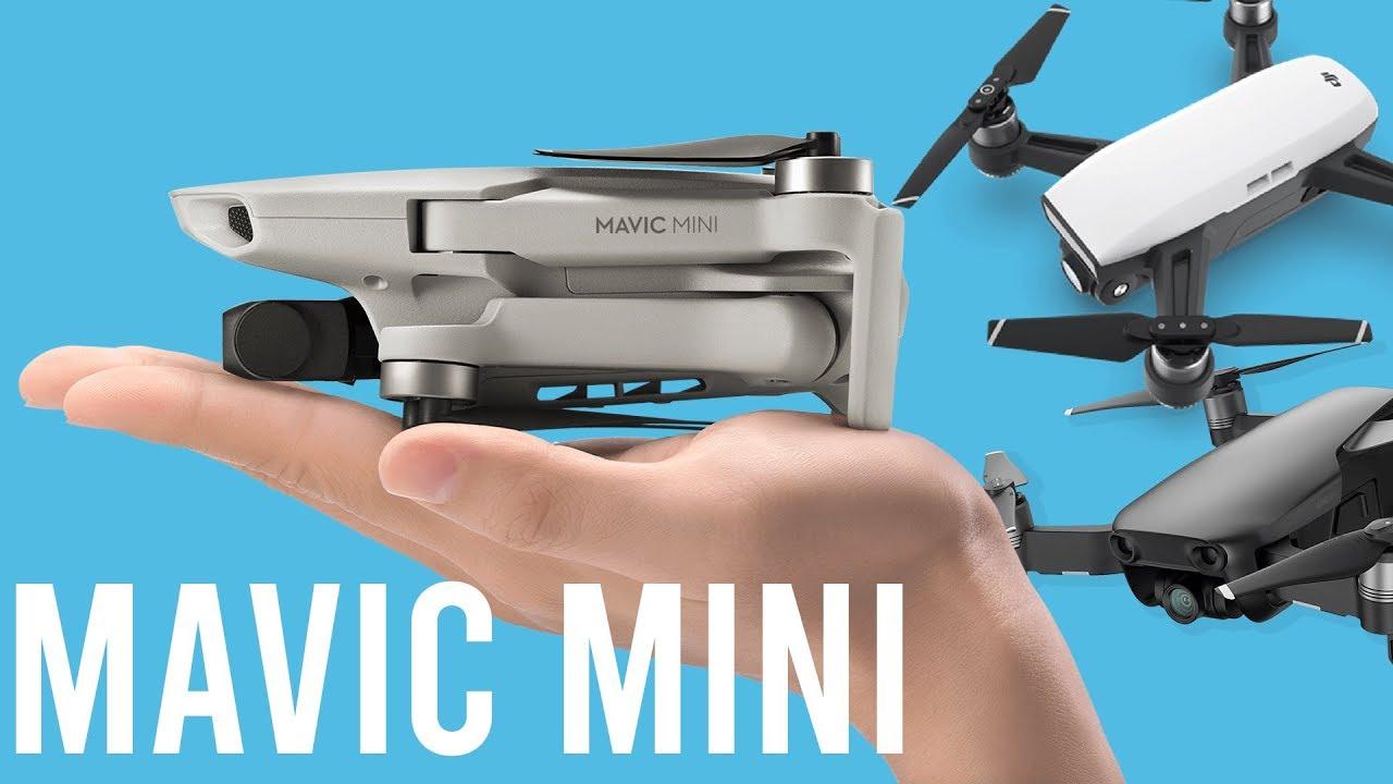 Mavic Mini Vs Dji Spark Vs Mavic Air Spec Comparison Youtube