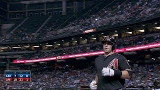 Goldschmidt blasts two-run shot, sets record