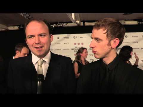Rory Kinnear & Robert Emms - Broken - BIFA Arrival Interviews