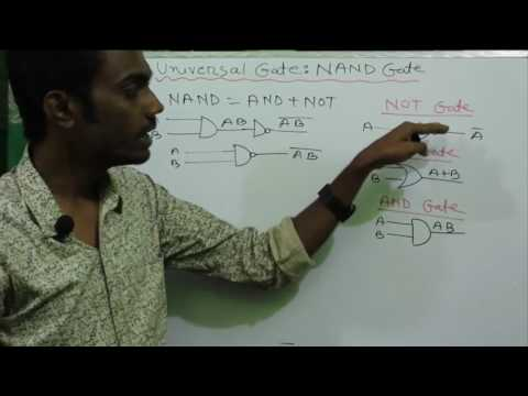 NAND Gate as Universal Gate bangla | HSC ICT Bangla Tutorial