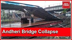 After Elphinstone Tragedy, Footover Bridge Collapses Near Andheri; Western Railways Halted