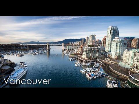 Vancouver city (Bird's eye view). ATB - Ecstasy.