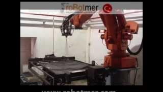 abb robotmer irb 6400 spraying spreyleme