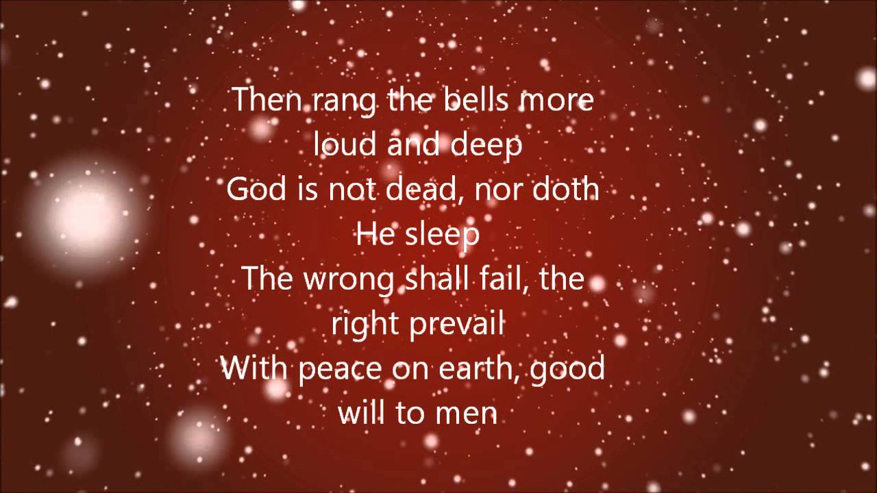 Casting Crowns - I Heard The Bells On Christmas Day (Lyrics) - YouTube