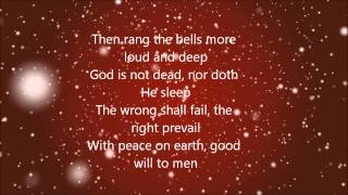 Casting Crowns - I Heard The Bells On Christmas Day (Lyrics)
