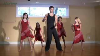 Salsa Basic Dance Step - learn Latin Salsa Dance Lessons for kids salsa dancing