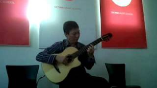 """Mission Impossible"" (L. Schiffrin) arranged and performed on solo guitar by Jubing Kristianto"