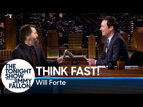 Think Fast! with Will Forte streaming vf