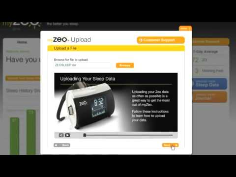 Zeo Personal Sleep Coach - SD Card Upload And Online Tools