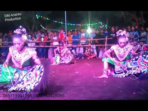 Jaranan Senterewe Putri Kenya Mayangkara @Soman Selomartani Kalasan