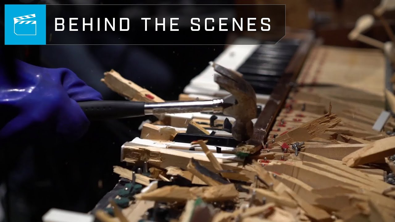 The developers of Halo Infinite broke the piano to record sounds for the game