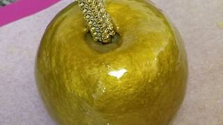 How To Make Gold Candy Apples (Very Detailed)