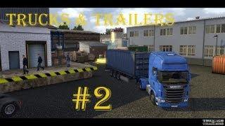 Trucks & Trailers Lieferant Gameplay