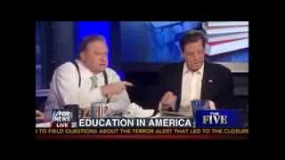 The Five's Bob Beckel Explodes at Panel: 'You're Playing The Race Card!' - 8/8/13