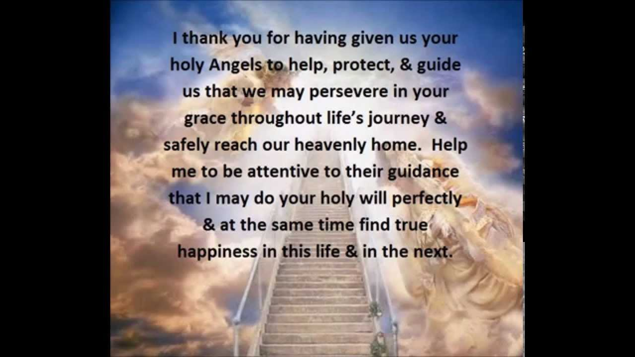 prayer to angels for special request in a difficult situation