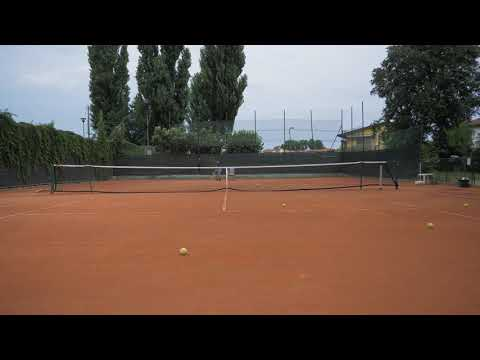 improved my serve a lot, come rate my power level - points vs coach + medium speed serve practice