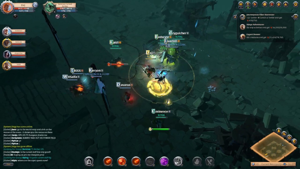 Mage T4 Expedition (dungeon) - Albion Online