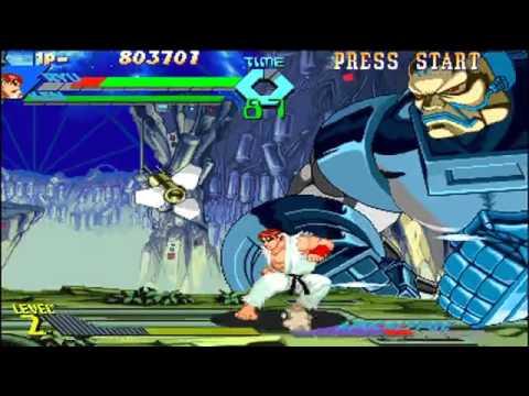 Download xmen vs street fighter ryu ken versus apocalypse