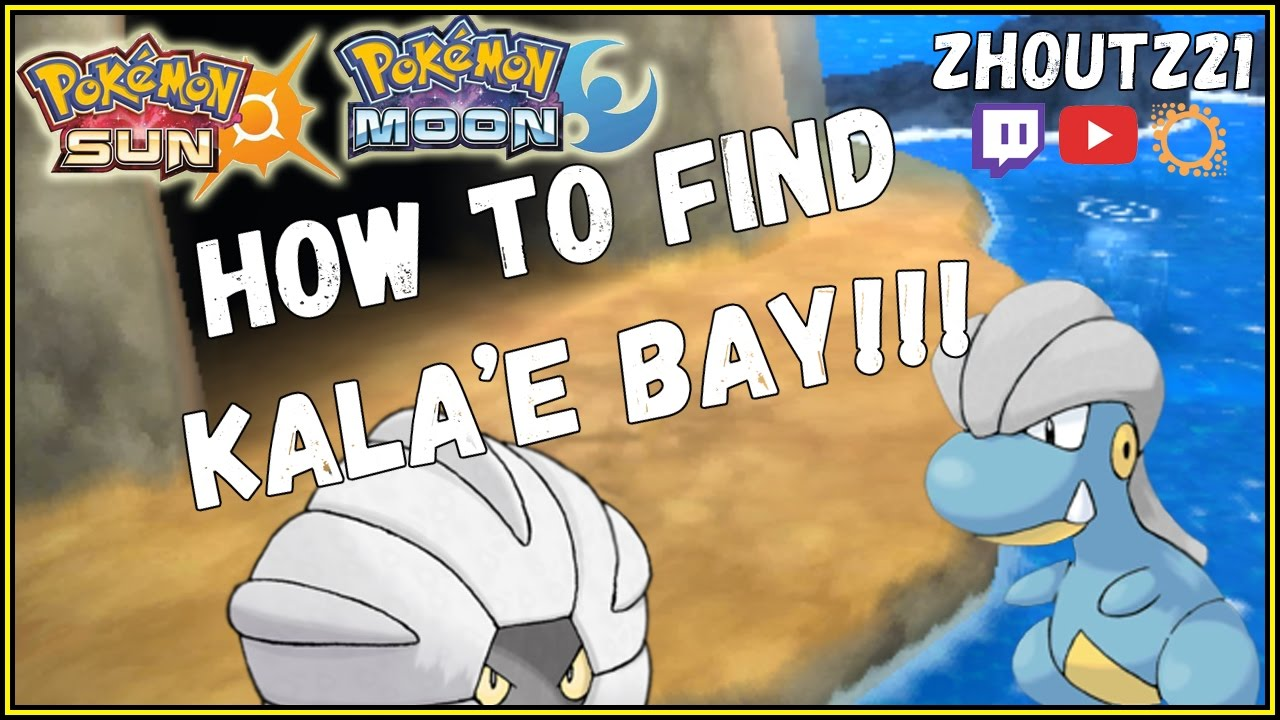 how do you get to kalae bay in pokemon sun