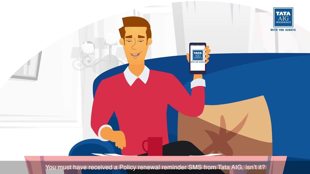 Renew Tata Aig Insurance Online Thinkahead Thinkdigital Youtube