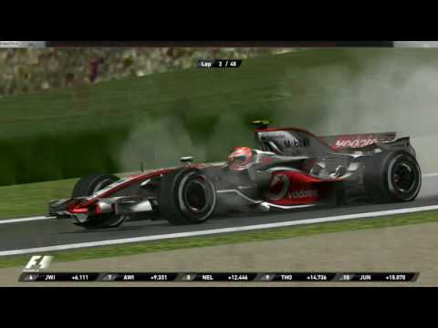 GP4 Offline Championship Season 2008:Round 10:German GP Highlights